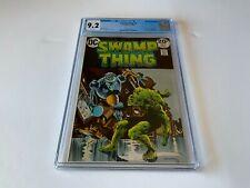 SWAMP THING 6 CGC 9.2 WHITE PGS ROBOT COVER BERNIE WRIGHTSON DC COMICS 1973