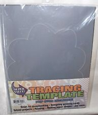 "TRACING TEMPLATE Giant Palm Tree 8 1/2"" x 11"" NEW! Plastic Stencil Reuseable"