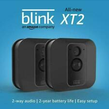 All-New Blink XT2 Home Security 2 TWO Camera System Motion Detection 1080P HD BN