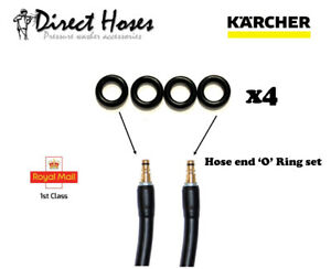 Karcher Replacement RUBBER 'O' ring's for K series QFIT hoses
