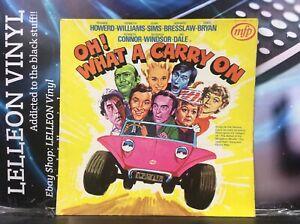 Oh! What A Carry On Soundtrack LP Album Vinyl MFP1416 Film Movie 50's 60's