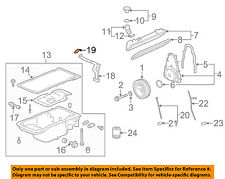 GM OEM Engine-Oil Tube Seal 12557752