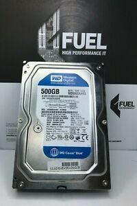 WD Blue WD5000AAKS-07V0A0 500GB SATA 3.5inch Desktop Internal Hard Drive