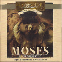 NEW Moses in the Wilderness Audio CD Lamplighter Theatre Great Family