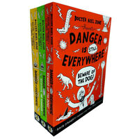 David O'Doherty Collection Danger is Everywhere School of Danger 3 Books Set NEW