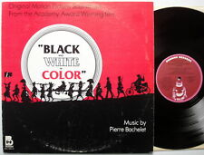 BLACK AND WHITE IN COLOR ost LP Pierre Bachelet