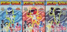 Bandai Engine Sentai Boukenger - GO GO BOUKENGER Dangler Candy Toy Set of 3