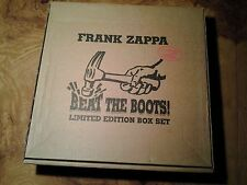 Beat the Boots 2 Frank Zappa (8) CD Complete Beret Swiss Fire  Box Set