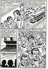 FINALE DE COUPE FOOTBALL (ROBERT HUGUES) PLANCHE ORIGINALE PILAR SANTOS PAGE 19
