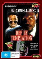 Def By Temptation Troma DVD New Samuel Jackson Horror Movie_Region 4