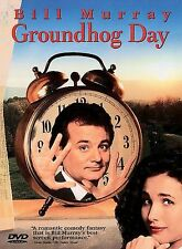 Groundhog Day (DVD, 1998, Closed Caption Subtitled in French and Spanish)