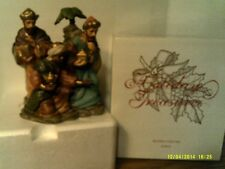 2002AVON Holiday Treasures BLESSED VISITORS KINGS Porcelain-NEW IN BOX-FREE SHIP