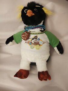 "Cody Maverick Build A Bear Workshop Surf's Up Penguin Stuffed Plush 17"""