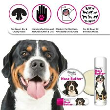 Greater Swiss Mountain Dog Nose Butter   Herbal Balm Moisturizes Dry Dog Noses