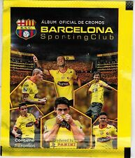 Ecuador 2016 Panini Team Barcelona Sporting Cub Soccer sticker pack