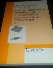 Wahrscheinlichkeitsrechnung und Inferenzstatistik: Statist... | Buch | gebraucht