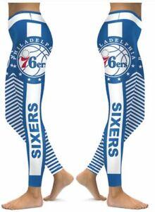 Philadelphia 76ers Small to 2X-Large Womens Leggings 2020