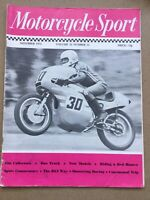 Motorcycle Sport Magazine - November 1972 - Thoroughbred 350, Scott In Colour