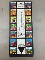1969 Kenner See-A-Show 3D Cartoon Slide Vintage Toy It's For The Birds Porky Pig