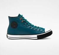 Converse All Star Blue Green High Chuck Taylor Sneakerboots Gore Tex Winter NEW