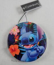 NEW Disney Lilo & Stitch W/ Angel Circular Compact Cosmetic Hinge Pocket Mirror