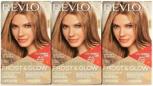 (3 Boxes) Revlon Color Effects Frost & Glow Honey All In One Easy Highlight Kit