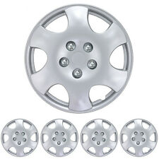 Hub Caps 15 Inch Set of 4 Pieces Stron ABS Plastic Protection Hubcaps Cover