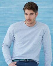 10 Gildan Long Sleeve T-Shirt With Pocket Bulk Lot ok to mix XXL-5XL & Colors