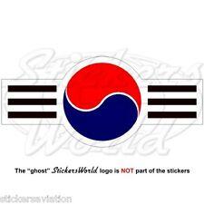 SÜDKOREA Luftwaffe Flugzeug Roundel ROKAF Südkoreanische 120mm Sticker Aufkleber