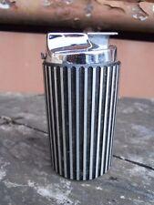 Vintage Briquet de salon Ronson base aluminium dépoli