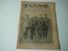 journal Excelsior 17 10 1916 les 5 brisques de blessures du Gal Gouraud 14-18