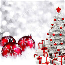 Christmas 10'x10' Computer/Digital Vinyl Scenic Photo Background Backdrop SU428