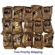 MRE US MILITARY Case A/B 4 Random Draw - MEALS READY TO EAT