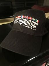 European Car Magazine Hat very rare