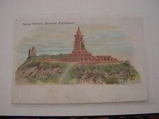 AK Sammelpostkarte des Deutschen Kriegerbundes Kaiser Wilhelm Denkmal Kyffhäuser