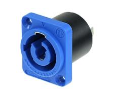 Neutrik Powercon Socket - Blue PowerCon Panel Mt Recep Input