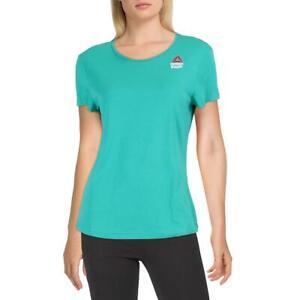 Reebok Womens Cross Fit Fitness Workout T-Shirt Athletic BHFO 2490