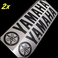 Yamaha CARBON FIBER 5in 12.7cm decals stickers r6 fz1 keyboard fz8 seca zuma rz