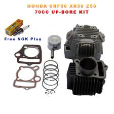 50cc to 70cc Rebuild Kit Honda CRF50 XR50 Z50 Piston Rings Big Bore Head 72cc