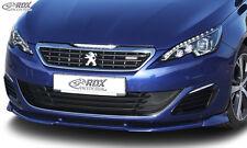 RDX FRONT SPOILER VARIO-X per Peugeot 308 (tipo L) GT/GTI