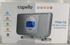 Capello Wake Up Dual Alarm Clock with Digital Am/Fm Radio & Cd Player-Working