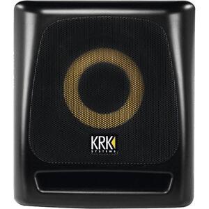 KRK 8S2 - Subwoofer Studio - Recording - Mixing - Mastering - OVP & NEU