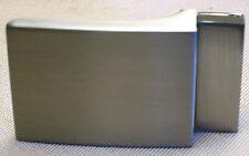 Cintura FIBBIA CINTURONE F. cintura larghezza 3,5cm METALLO COLORE ARGENTO MATT cinturone di bloccaggio