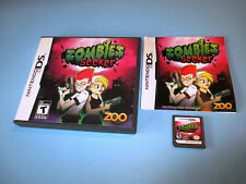 Zombies Seeker Nintendo DS Lite DSi XL 3DS 2DS Game w/Case & Manual