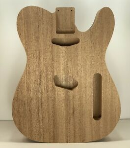 Mahogany One Piece Telecaster Style Unfinished Electric Guitar Body #711,USA