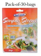Pack Of 30 Sealapack Simply Steam Vegetable Microwave Steam Cooking Bags