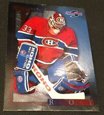 PATRICK ROY 1995-96 Score Hockey BLACK ICE Foil Parallel SP #145 Tough to Find