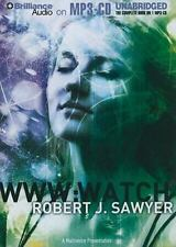 WWW : Watch by Robert J. Sawyer MP3-CD 12 hours