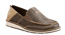 Ariat Men's Cruiser Vintage Brown Bomber Slip-On Shoes 10023208