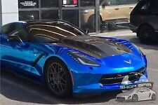 RKSport Chevrolet Corvette C7 Supercharger Extractor Hood in Carbon Fiber
